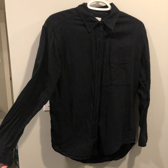 Black Community (Aritzia) Button Down Blouse